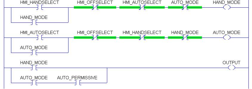 Motor Plc Ladder Diagram