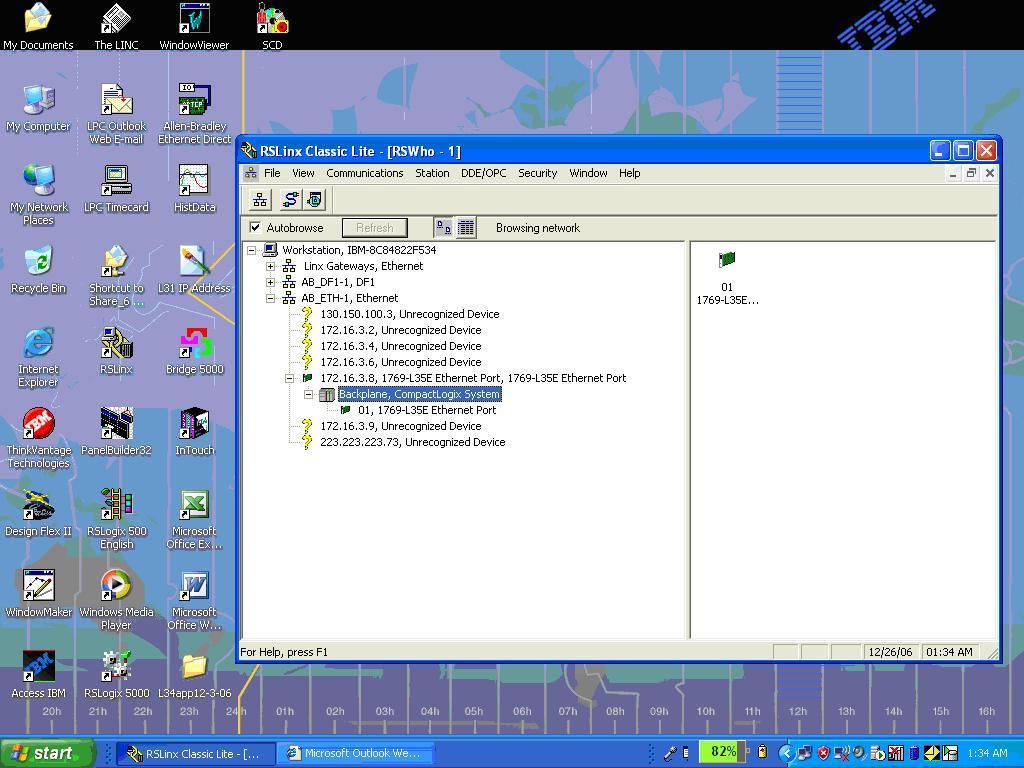 Compact Logix Comms Problem - PLCS net - Interactive Q & A