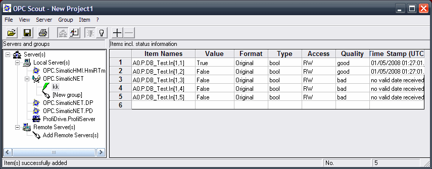 OPC Siemens fail to read an ARR[i,n] [Text] - PLCS net
