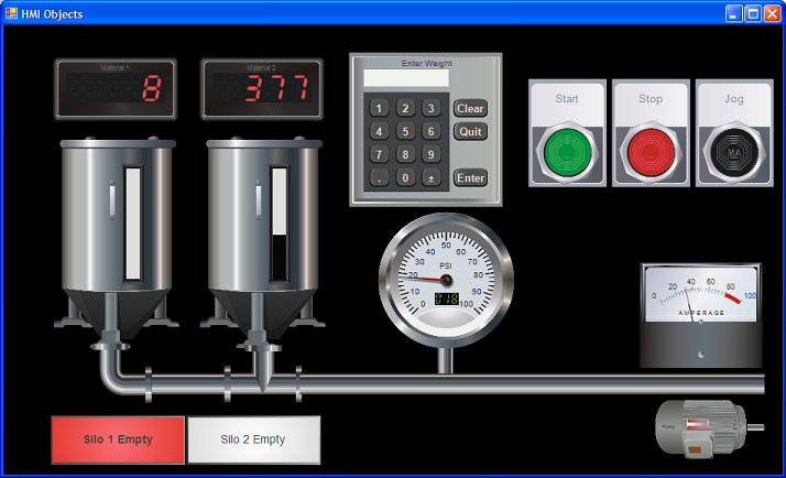 A Free HMI with Eye Catching Graphics is Now Available