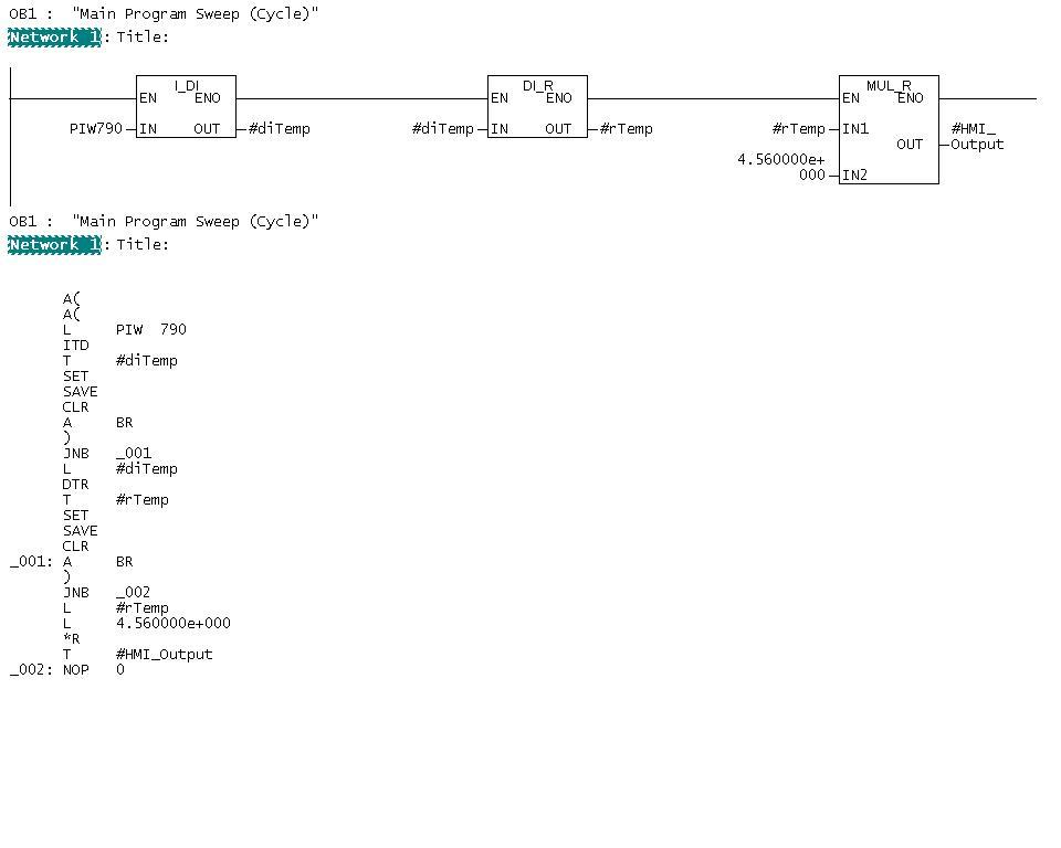 Ladder vs STL [Text] - PLCS net - Interactive Q & A